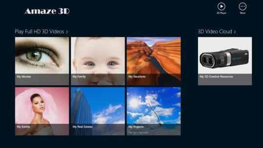 Amaze 3D for Windows 8
