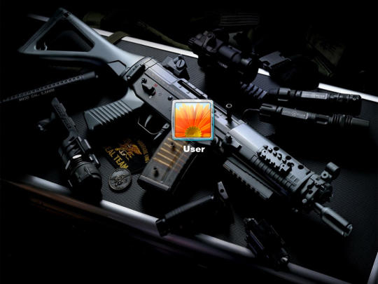 Amazing Guns Logon Screen