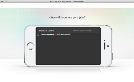 Amazing Mac Any iPhone Data Recovery
