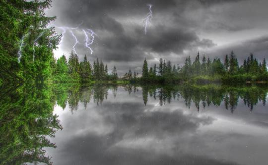 Amazing Thunderstorm Animated Wallpaper