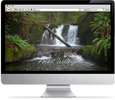Amazing Waterfall Screensaver