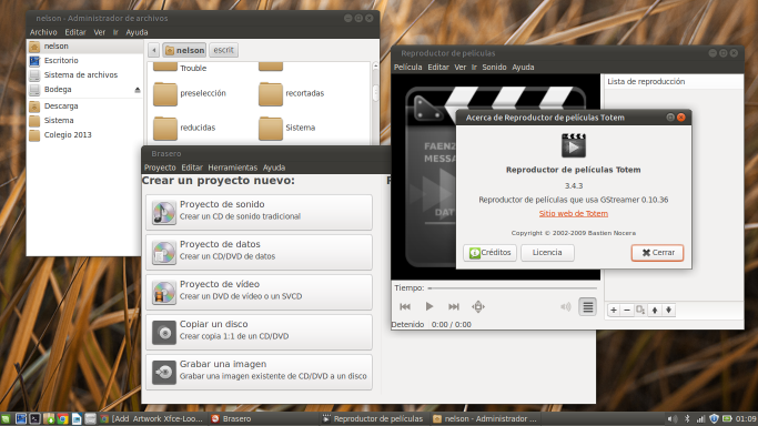 Ambiance LXDE XFCE Fixed for GTK3