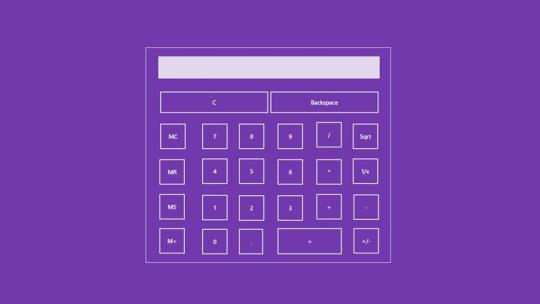 Amethyst Calculator for Windows 8