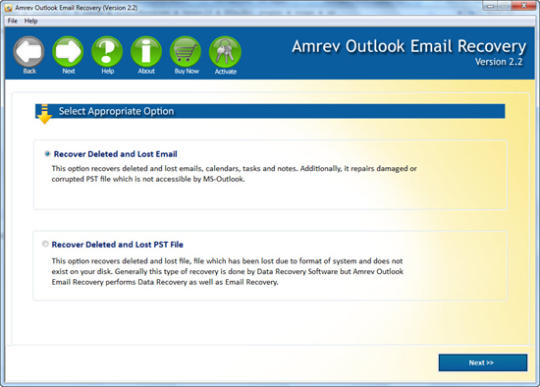 Amrev Outlook Email Recovery