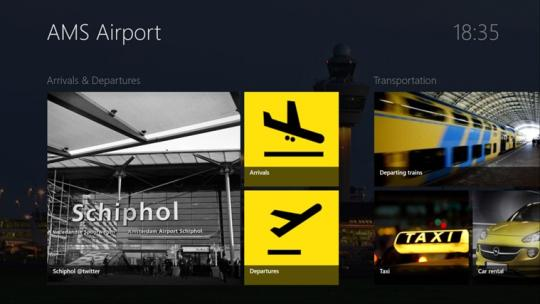 AMS Airport for Windows 8