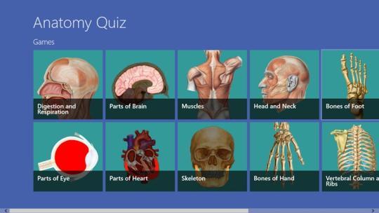 Anatomy Quiz for Windows 8