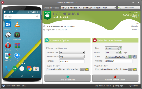 Android Screencast
