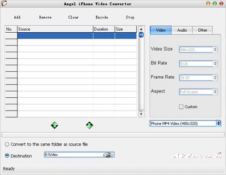 Angel iPhone Video Converter