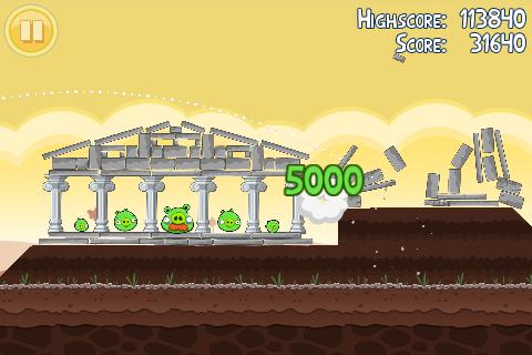Angry Birds demo