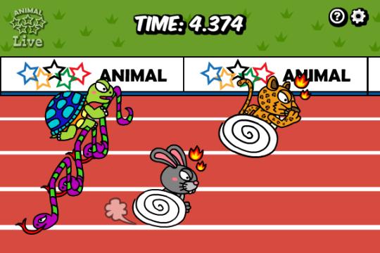 Animal Olympics - Hurdles