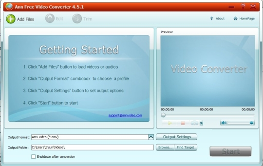 Ann Video Converter Free