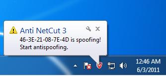 Anti NetCut (Windows XP)