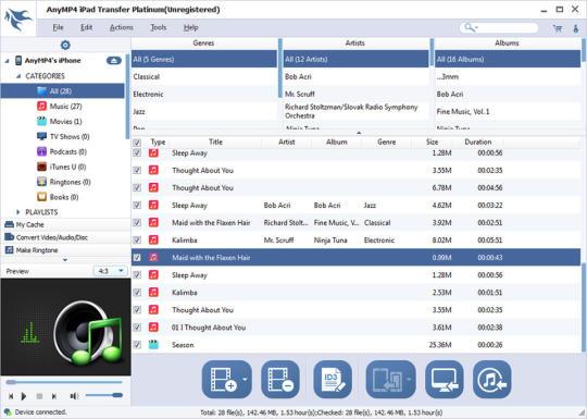 AnyMP4 iPad Transfer Platinum
