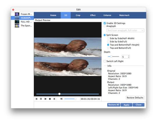 AnyMP4 Mac Video Converter Ultimate