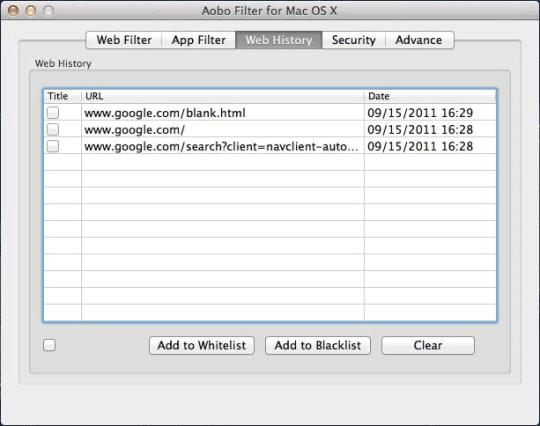 Aobo Filter for Mac Standard