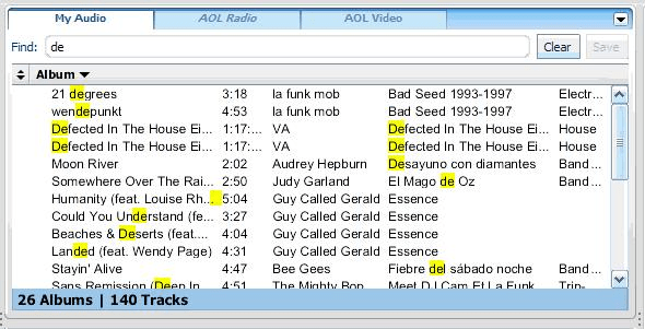 AOL Media Player