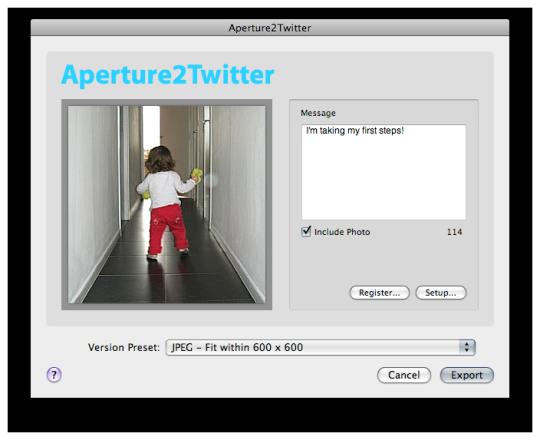 Aperture2Twitter