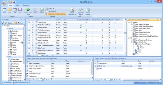 Apex SQL Clean