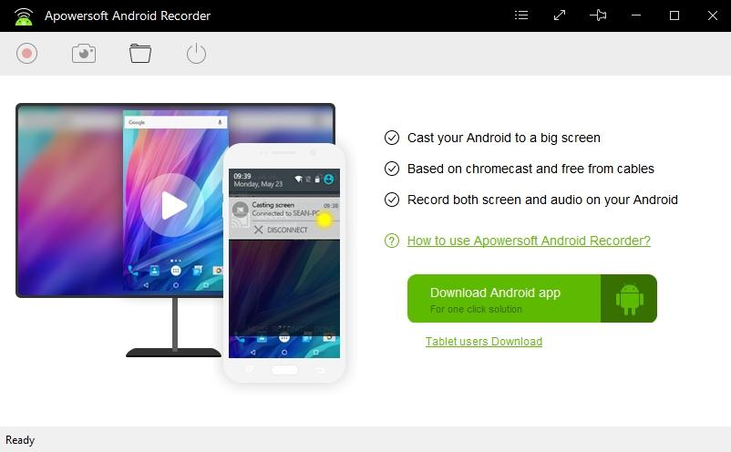 Apowersoft Android Recorder