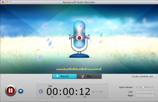 Apowersoft Mac Audio Recorder