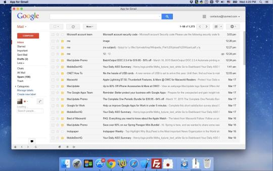 App for Gmail