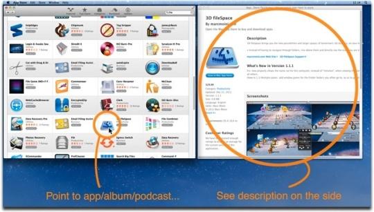 App Store Quickview