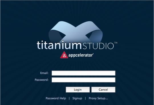 Appcelerator Titanium Studio