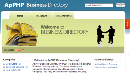 ApPHP Business Directory