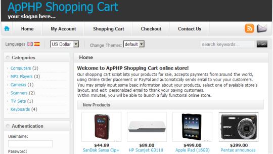 ApPHP ShoppingCart