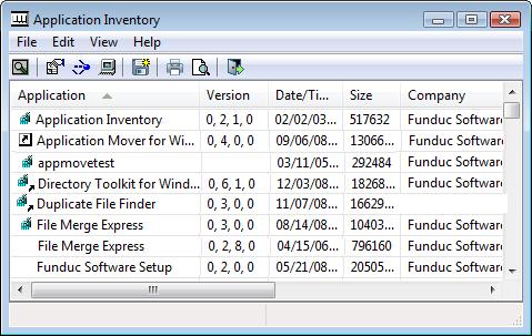Application Inventory Portable (64-bit)