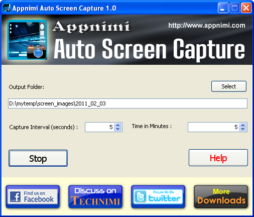 Appnimi Auto Screen Capture