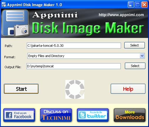 Appnimi Disk Image Maker