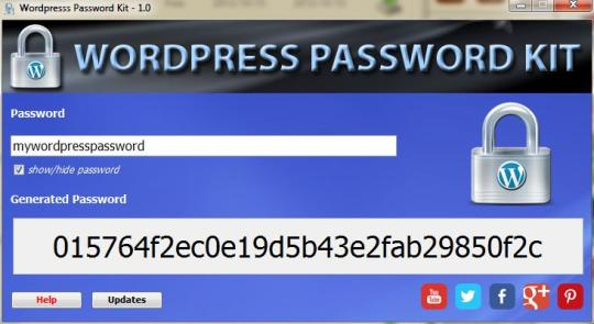 Appnimi Wordpress Password Kit