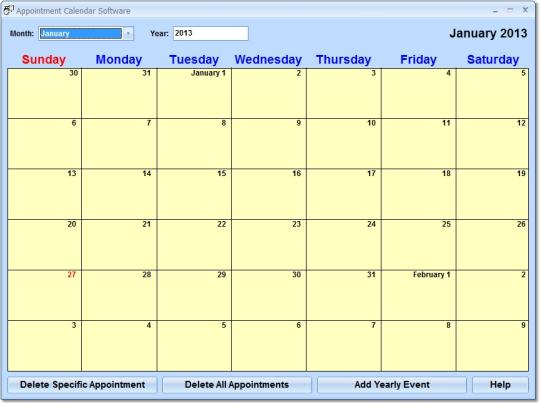 Appointment Calendar Software