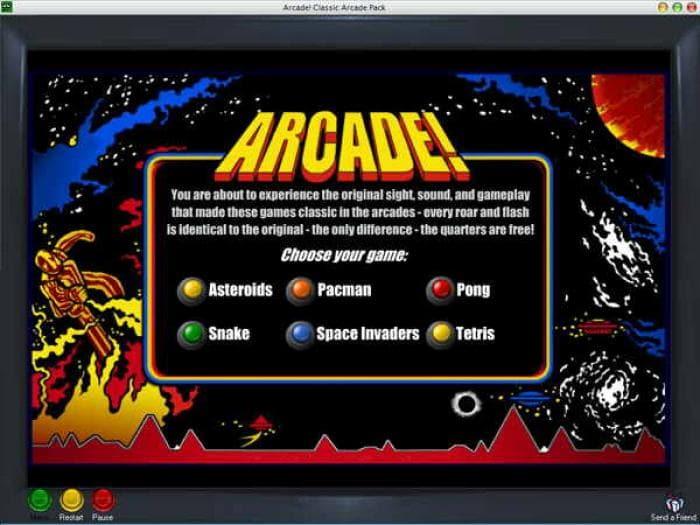 Arcade! Classic Arcade Pack
