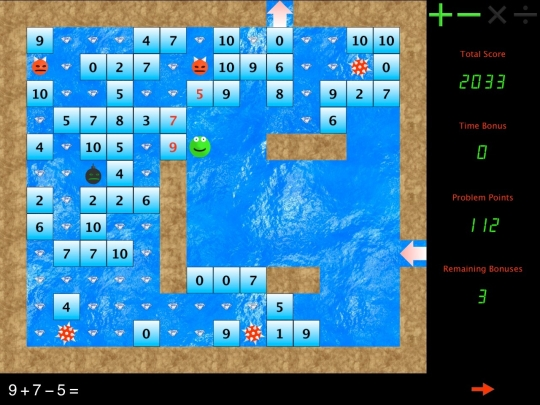 Arcade Math Blocks