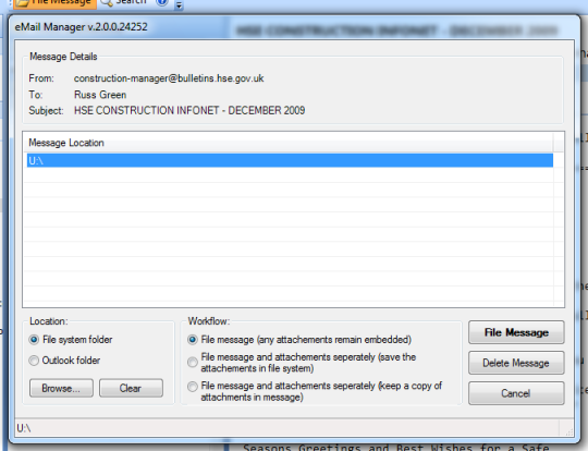 Archisoft eMail Manager