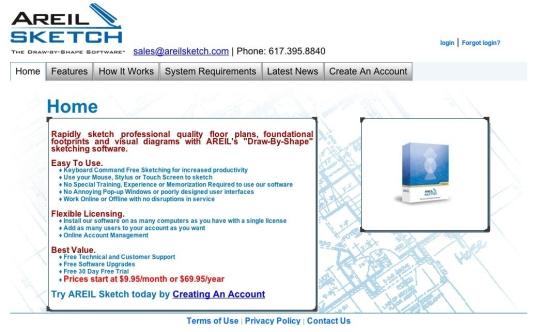 AREIL Sketch - Floor Plan Software