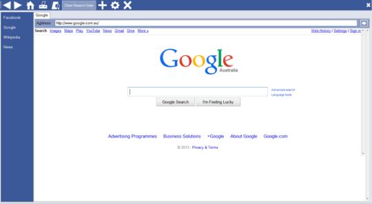 Arlington Kiosk Browser