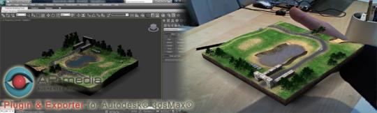 ARmedia Plugin for Autodesk 3ds Max
