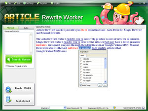 Article Rewrite Worker