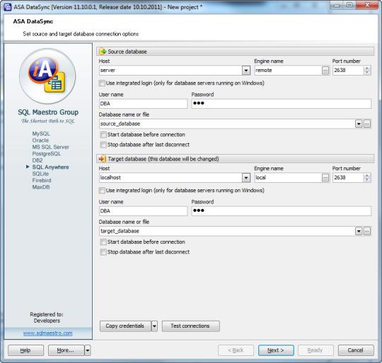 ASA Data Sync