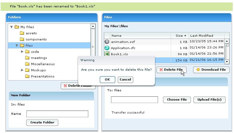 ASF File Explorer