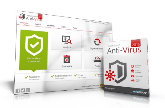 Ashampoo Anti-Virus 2015