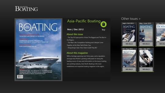 Asia-Pacific Boating for Windows 8