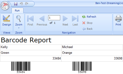 ASPX Barcode Generator Script