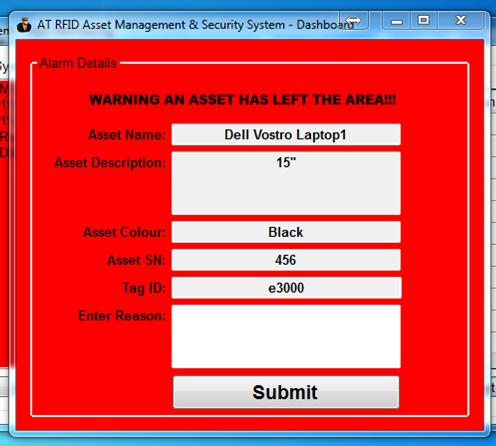 AT RFID Asset Management & Security Software