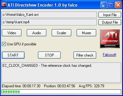 ATI Directshow Encoder