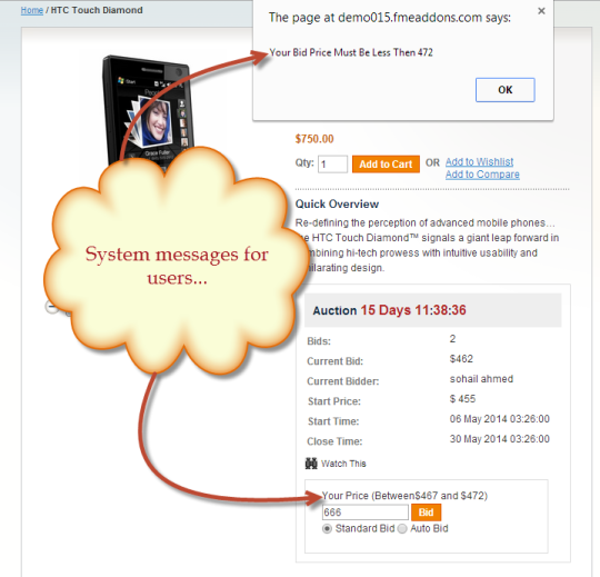 Auction Magento Extension