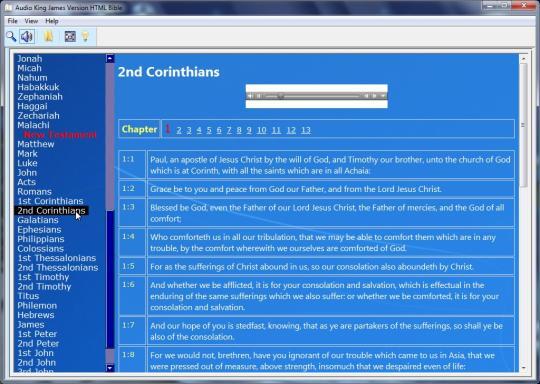 Audio King James Version HTML Bible